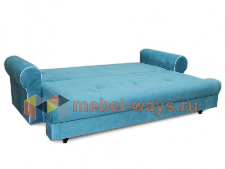 Раскладной диван для лофта «Дрезден» в трансформации