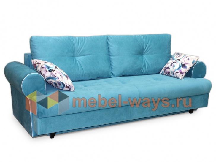 Раскладной диван для лофта «Дрезден» в интерьере