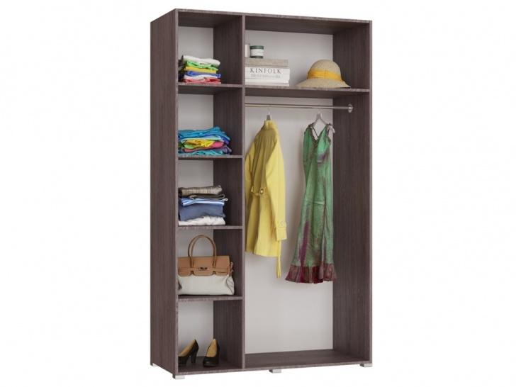 Распашной шкаф 3-х створчатый «Дизайн Люкс – 22» внутри