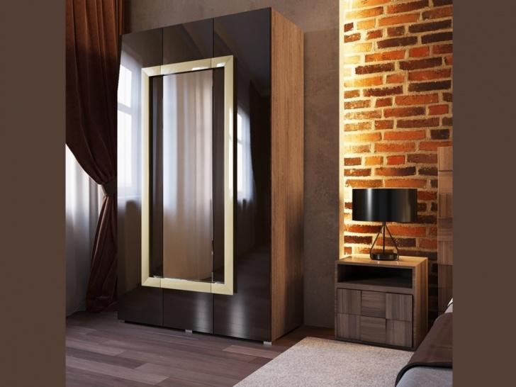 Распашной шкаф 3-х створчатый «Дизайн Люкс – 22»