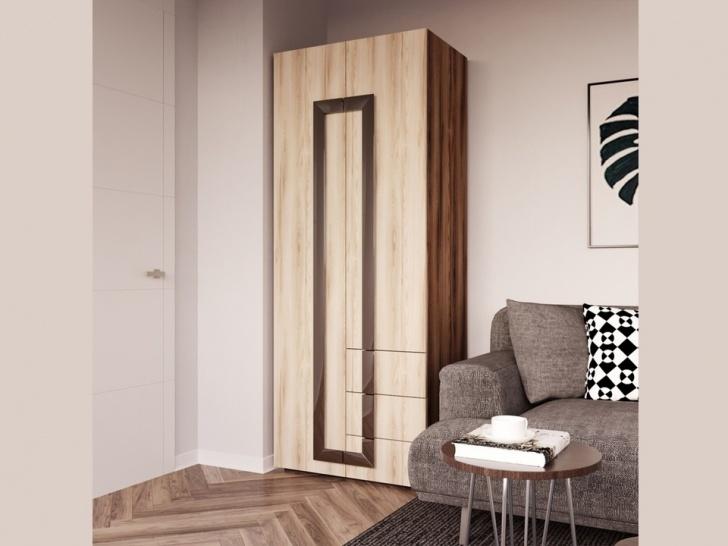 Распашной шкаф для гостиной комнаты «Дизайн Люкс – 34»