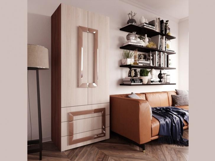Распашной шкаф для одежды «Дизайн Люкс – 35»