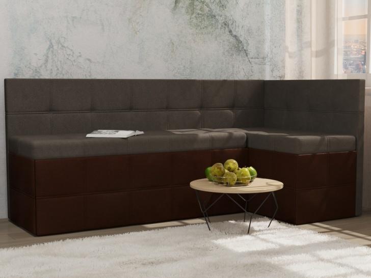 Серый угловой диван «Грета – 6» для кухни