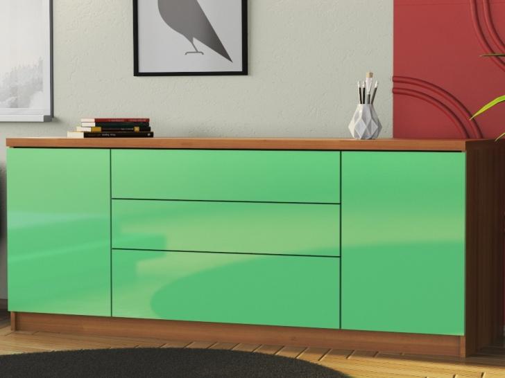 Современный длинный комод в спальню «Шайн-22»