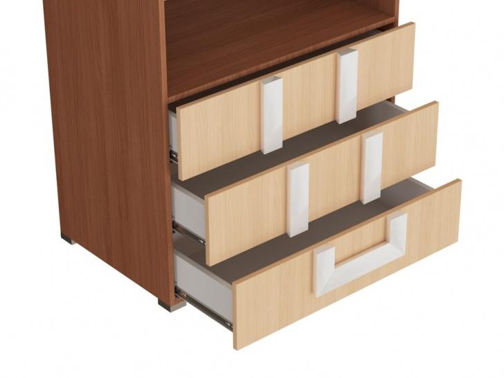 Шкаф 2-х створчатый «Дизайн Люкс – 29» с ящиками