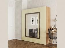 Шкаф четырехдверный распашной «Дизайн Люкс – 16»