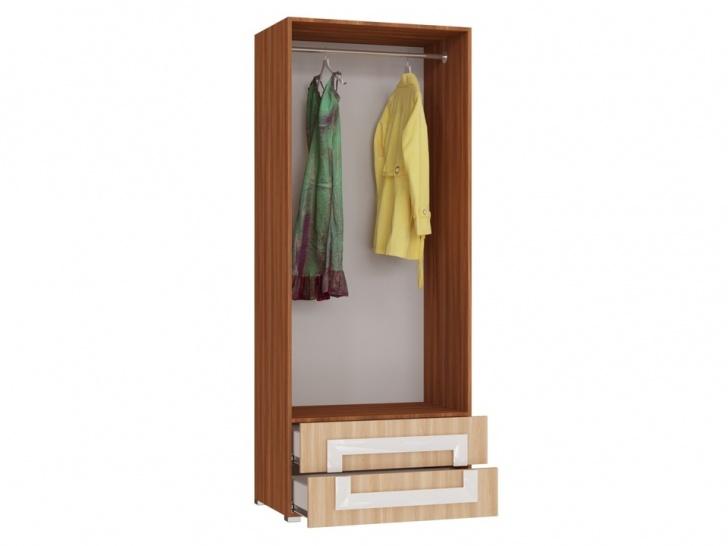 Шкаф двухдверный распашной «Дизайн Люкс – 36» внутри