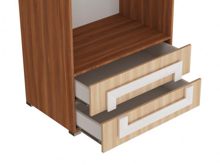 Шкаф двухдверный распашной «Дизайн Люкс – 36» с ящиками