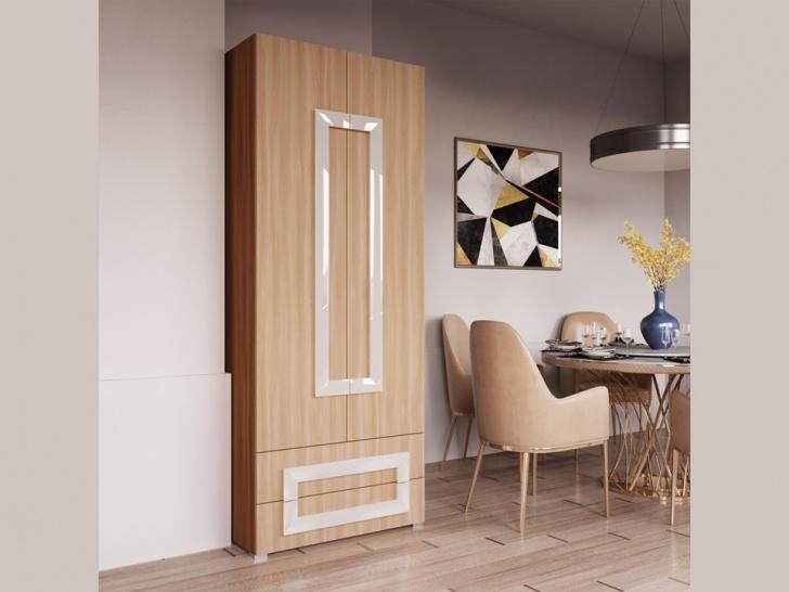 Шкаф двухдверный распашной «Дизайн Люкс – 36»