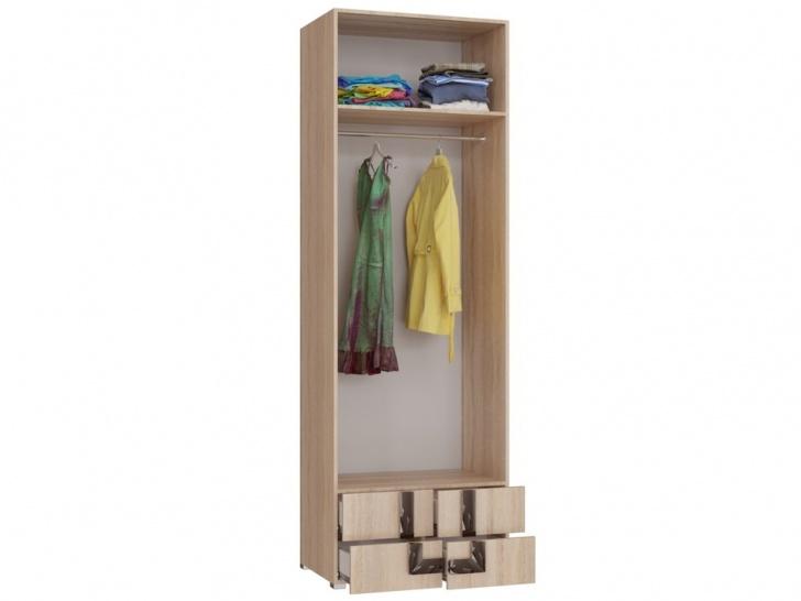 Шкаф двухстворчатый с антресолью «Дизайн Люкс – 31» внутри
