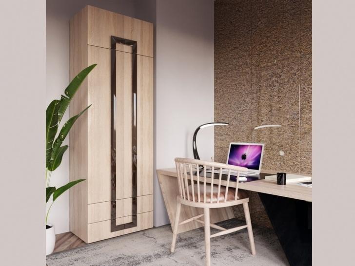Шкаф двухстворчатый с антресолью «Дизайн Люкс – 31»