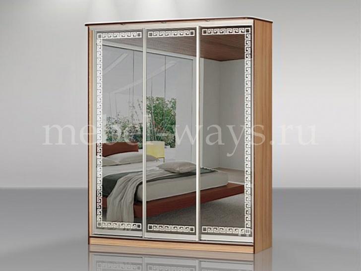 Шкаф-купе с зеркалом в детскую комнату «Концепт – 23»