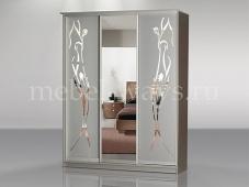 Светлый шкаф-купе с зеркалом «Концепт – 33»