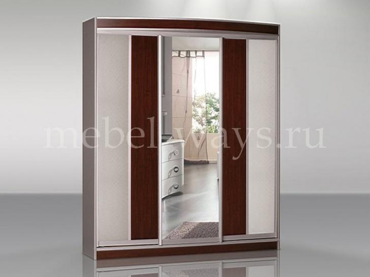 Шкаф-купе для спальни с зеркалом «Концепт – 34»