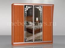 Четырехдверный шкаф-купе с зеркалами «Концепт – 36»