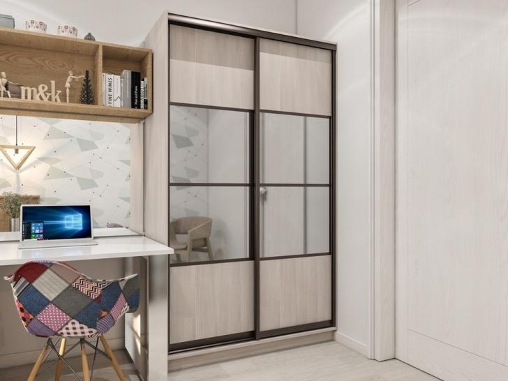 Шкаф-купе в детскую комнату «Манхеттен – 14»