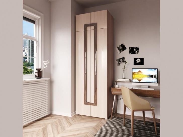 Шкаф распашной двухстворчатый с антресолью «Дизайн Люкс – 30»