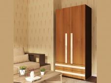 Шкаф с ящиками и полками для одежды «Дизайн Люкс – 5»