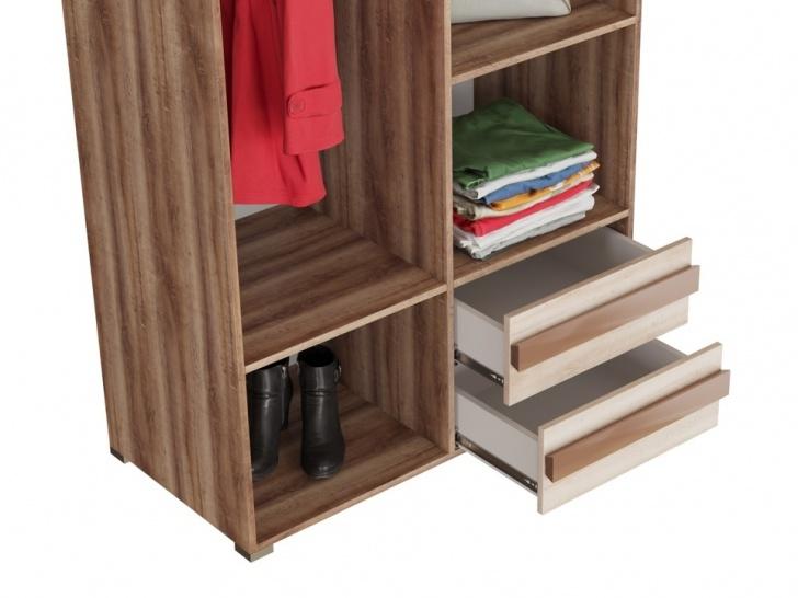 Шкаф с зеркалами «Дизайн Люкс – 9» с ящиками