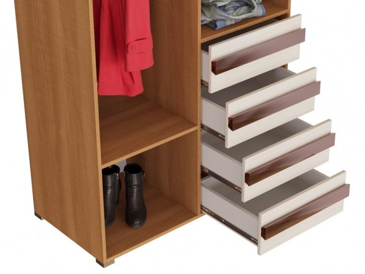 Шкаф со встроенным комодом «Дизайн Люкс – 4» с ящиками