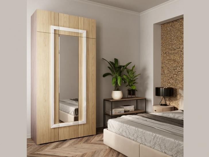 Шкаф трехстворчатый с антресолью «Дизайн Люкс – 24»