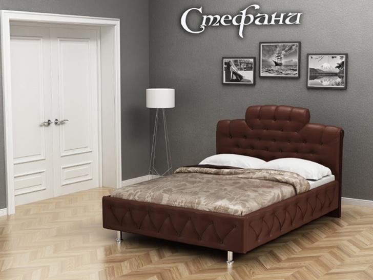 «Стефани» - кровать тахта с мягким изголовьем
