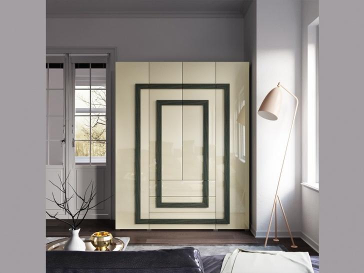 Стильный распашной шкаф «Дизайн Люкс – 21»