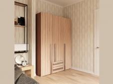 Трехстворчатый шкаф «Дизайн Люкс – 7»