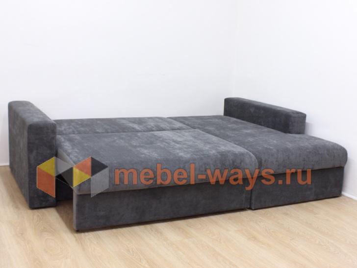 Угловой диван «Гамбург» в разложенном состоянии