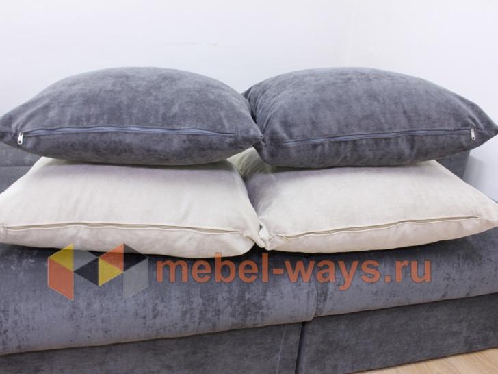 Подушки углового дивана-еврокнижки «Гамбург»