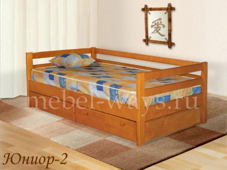 Детский диван-кровать с ящиками «Юниор-2»