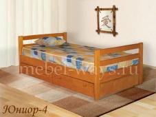 Подростковая кровать со спинками «Юниор-4»
